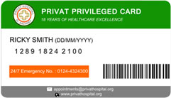 Privat Privileged Card